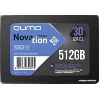 SSD 512 Gb Qumo Q3DT-512GPGN 2.5 (250 TBW / 560:540 Мбайт / с) 3D TLC