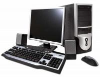 Системный блок GIPPO E5-2690 / 8Gb / 500Gb / 128Gb SSD / RX 550 2Gb / noODD / DOS