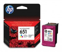 Картридж HP F6V24AE BHK (№652) Color для HP Deskjet Ink Advantage 1115 / 2135 / 3635 / 3835 / 4535  /