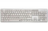 Клавиатура USB Hama Verano белая 105КЛ