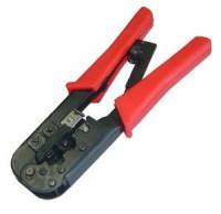 Инструмент HT-568R для обжима коннекторов RJ-45, RJ-11 / 12, с фикс.+зачистка витой пары