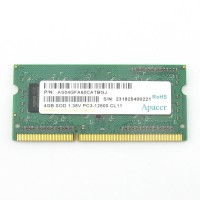 Память DDR3 SO-DIMM 4Gb <PC4-12800> Apacer <AS04GFA60CATBGJ> CL11