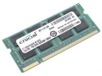 Память DDR3 SO-DIMM 2Gb <PC3-12800> Crucial <CT25664BF160B(J)> CL11