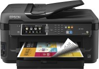 Принтер МФУ Epson WorkForce WF-7710+СНПЧ (A3 / 5760*1440dpi / 13стр / 4цв / WiFi / сетевой / факс)