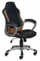 Кресло Бюрократ CH-825S / Black+Bg (сиденье черное, вставки бежевые)