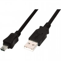 Кабель miniUSB -> USB 1.0м Buro