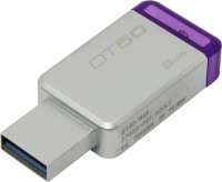 Флешка USB 8Gb Kingston DataTraveler 50 <DT50 / 8GB>