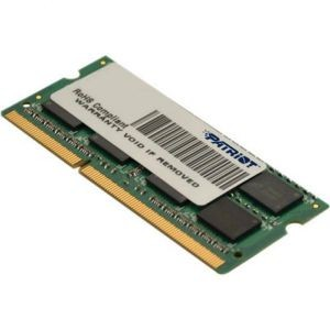 Память DDR3 SO-DIMM 4Gb <PC3-12800> Patriot <PSD34G16002S> CL11
