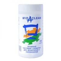Влажные чистящие салфетки Miraclean для ЖК-мониторов в тубе (105шт.) 24053