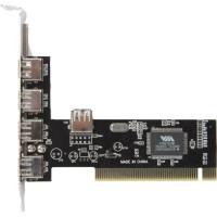 Контроллер * PCI USB 2.0 (4+1)port VIA6212 bulk <ASIA PCI 6212 4P USB 2.0>