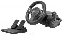 Руль Defender Forsage Drift PC / PS2 / PS3 / D-pad / 11btn / 2рычага / рычаг КПП / 2педали / Vibro