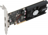 Видеокарта NVIDIA GeForce GT 1030 2Gb MSI <GT 1030 2G LP OC> 64bit GDDR5 HDMI+DP)