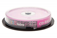 Диск CD-R Intro 700Mb 48x Cake Box (10шт)
