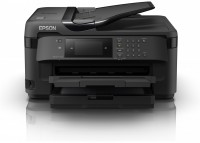 Принтер МФУ Epson WorkForce WF-7710  (A3 / 5760*1440dpi / 13стр / 4цв / струйный / WiFi / сетевой / факс)