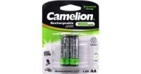 Аккумулятор AA 1000 mAh уп.2шт. Camelion <NC-AA1000-2> (1.2V, NiCd)