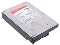 HDD 3.5 3 Tb Toshiba P300 <HDWD130UZSVA> 7200rpm 64Mb SATA-III