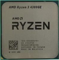 Процессор AMD Ryzen 3 4300GE AM4 4(8)core / 3.5(4.0)GHz / RX VEGA 6 / 35W (OEM)