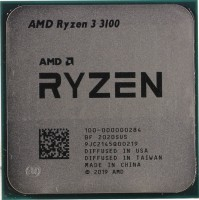 Процессор AMD Ryzen 3 3100  3.6GHz / 4core / 4+16Mb / 65W Socket AM4 (OEM)