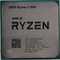 Процессор AMD Ryzen 3 3100  3.6GHz / 4core / 4+16Mb / 65W Socket AM4 (OEM)