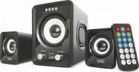 Колонки CBR CMS725 (100Гц–20кГц / jack3.5 / USB / TF слоты / FM-радио / пульт ДУ)