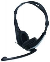 Полноразмерные наушники с микрофоном CBR CHP-525M (20Гц–20кГц / 2.4м / 2x-jack3.5)+регулировка