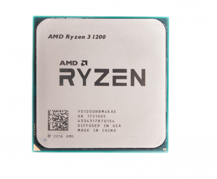 Процессор CPU AMD Ryzen 3 1200 (YD1200B) 3.1 GHz / 4core / 2+8Mb / 65W Socket AM4 OEM