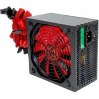 Блок питания 600W Ginzzu PC600 14CM(Red) 80+ black,APFC,24+4p,2 PCI-E(6+2), 5*SATA, 4*IDE,оплетка