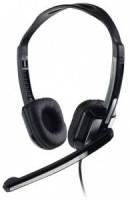Полноразмерные наушники с микрофоном CBR CHP-540M (20Гц–20кГц / 2.4м / 2x-jack3.5)+регулировка