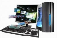 Системный блок GIPPO AMD Ryzen 3 1200 / 8Gb / SSD 120Gb / 1Tb / RX 550 4Gb / noODD / DOS