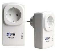 Сетевой адаптер ZTE H512A Nano Powerline Adapter Kit (2 адаптера,1UTP 10 / 100Mbps)