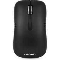 Мышь беспроводная USB CROWN CMM-933W Black / Grey 3btn+Roll / 1200dpi