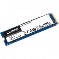 SSD NVMe 500 Gb Kingston SNVS / 500G (120TBW / 2100:1700 Мбайт / с)