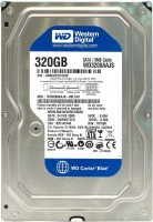 HDD 3.5 320 Gb Western Digital Caviar Blue <WD3200AAJS> 7200rpm 8Mb SATA-III