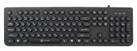 Клавиатура USB Oklick 400MR Slim (104КЛ+8КЛ)