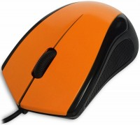 Мышь USB CBR CM100 Orange 3btn+Roll/1200dpi