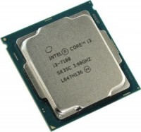 Процессор Intel Core i3-7100 3.9 GHz / 2core / HD G 630 / 1+3Mb / 51W / LGA1151 (OEM)
