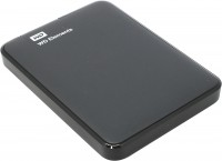 Внешний HDD 500Gb WD Elements <WDBUZG5000ABK-EESN> Black 2.5 USB3.0