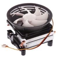 Вентилятор PC-Cooler Q102 (FM1-AM2+ / 775-1155 /  20дБ / 1200-2200 об / 2 трубки / 4pin / 135вт)
