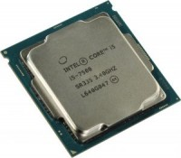 Процессор Intel Core i5-7500 3.4 GHz / 4core / HD G 630 / 1+6Mb / 65W / 8 GT / s LGA1151 (OEM)
