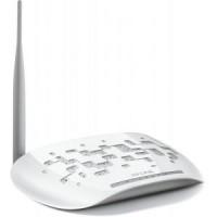 Модем ADSL TP-LINK TD-W8151N 802.11n / 150Mbps / 2,4GHz / 1UTP-10 / 100Mbps / 1RJ11 / 1x5dBi