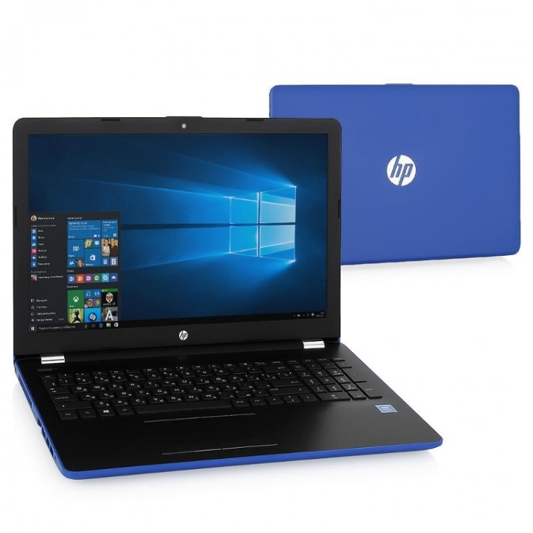 "Ноутбук 15,6"" HP 15-bs590ur Pentium N3710 / 4Gb / 500Gb / no ODD / WiFi / Win10"