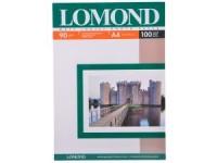 Фотобумага A4, матовая, 90 г / м2, 100 листов, LOMOND <0102001>