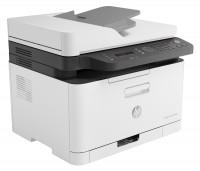 Принтер МФУ HP Color 178nw (4ZB96A) A4 WiFi белый / серый