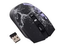 Мышь беспроводная USB CROWN CMM-930W 3btn+Roll