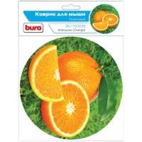 Коврик для мыши Buro <BU-T60039> Апельсин (пластик, 230x180x2мм)