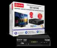 Цифровая приставка DVB-T2 D-COLOR DC1401HD (RCA / HDMI / USB)