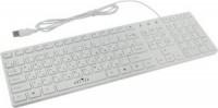Клавиатура USB Oklick 556S White 109КЛ