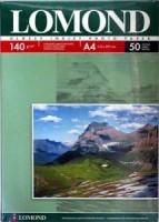 Фотобумага A4, глянцевая, 140 г / м2, 25 листов, Lomond (0102076)
