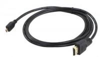 Кабель microHDMI-M -> HDMI-M 1.0м NoName