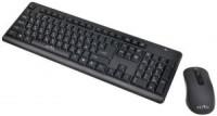 Комплект беспроводной Oklick 270M Black (Клав. USB,104КЛ,+Мышь 4кн)